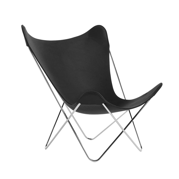 Knoll - Butterfly Chair, Chromgestell / anthrazit (Jubiläumsedition)