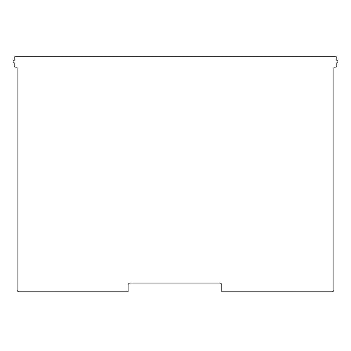 Kaether & Weise - Plattenbau, weiß, Frontklappe 62 cm, Fachhöhe: 40 cm