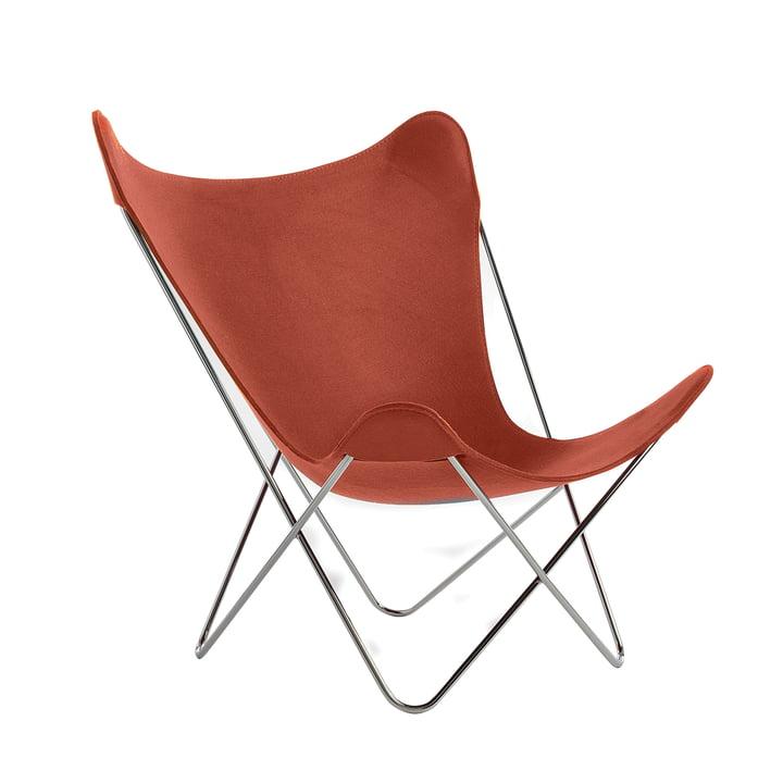 Knoll - Butterfly Chair, Chromgestell / brick (Jubiläumsedition)