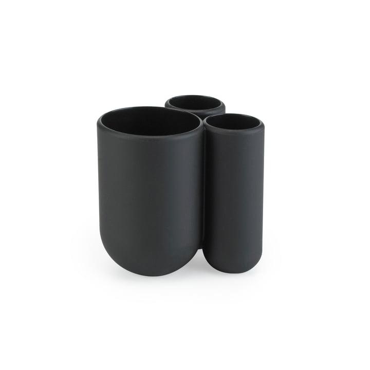 Umbra - Touch Zahnputzbecher, schwarz