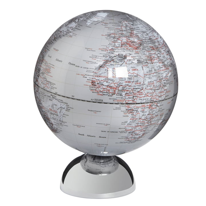 emform - Globus Andromeda, silber
