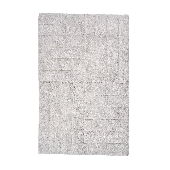 Die Zone Denmark - Classic Badezimmermatte 80 x 50 cm, soft grey