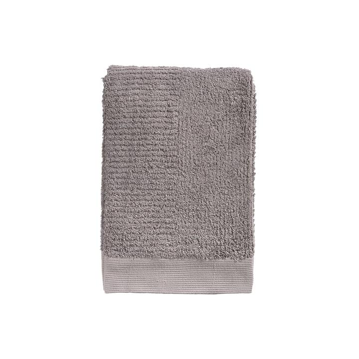 Das Zone Denmark - Classic Gästehandtuch, 50 x 70 cm, gull grey