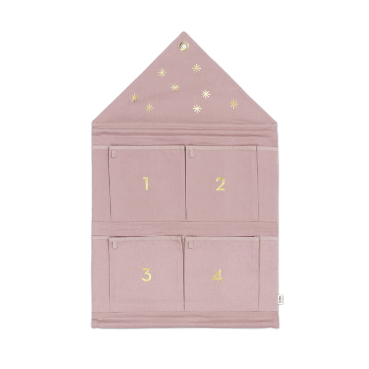 ferm Living - House Adventskalender, rose