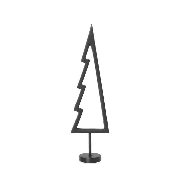Weihnachtsbaum Outline von ferm Living in schwarz