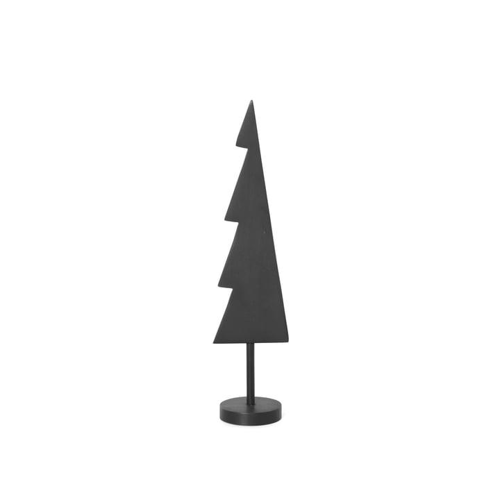 schwarzer Weihnachtsbaum Solid von ferm Living