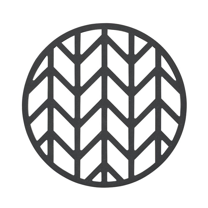 Der Zone Denmark - Crop Untersetzer, schwarz