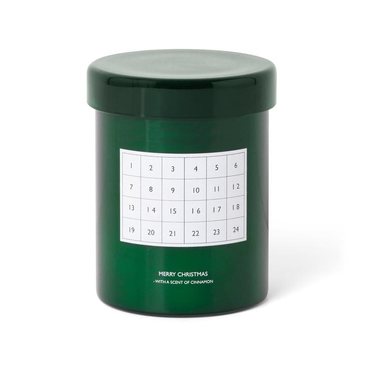 ferm Living- Duftkerze Adventskalender, grün