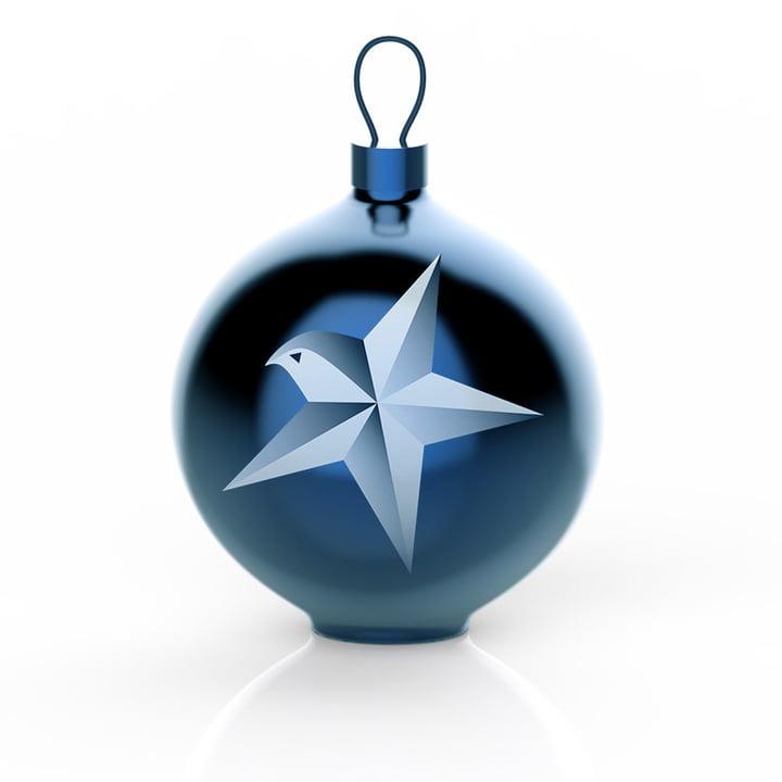 Die Alessi - Blue Christmas Christbaumkugeln, Stern