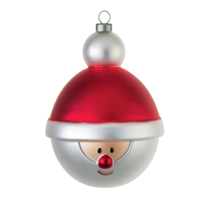 Die A di Alessi - Christbaumkugel, Weihnachtsmann