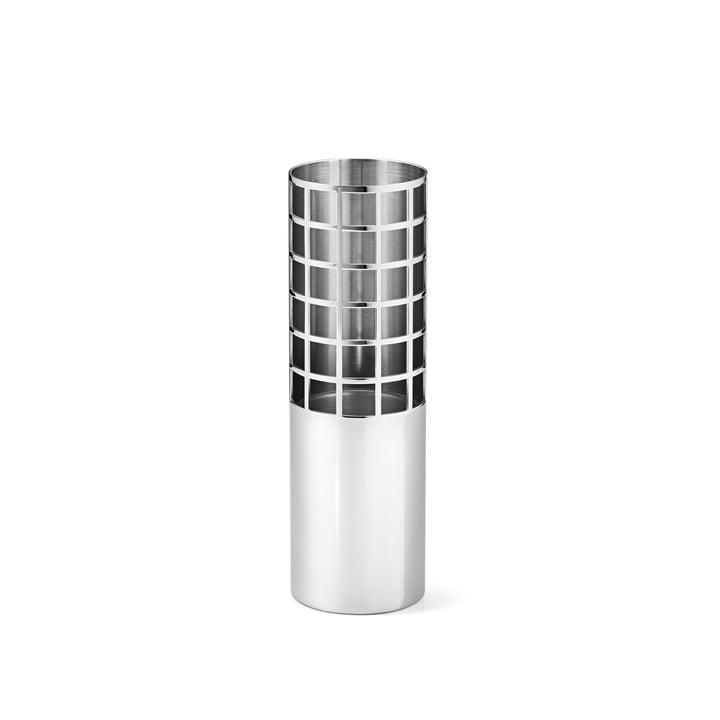 Matrix Tube Vase small aus Edelstahl von Georg Jensen