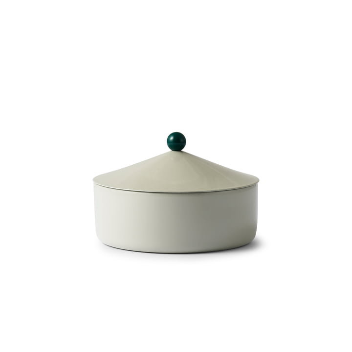 Tivoli - Marquee Dose medium, H 8.5 x Ø 12.5 cm, antique celadon