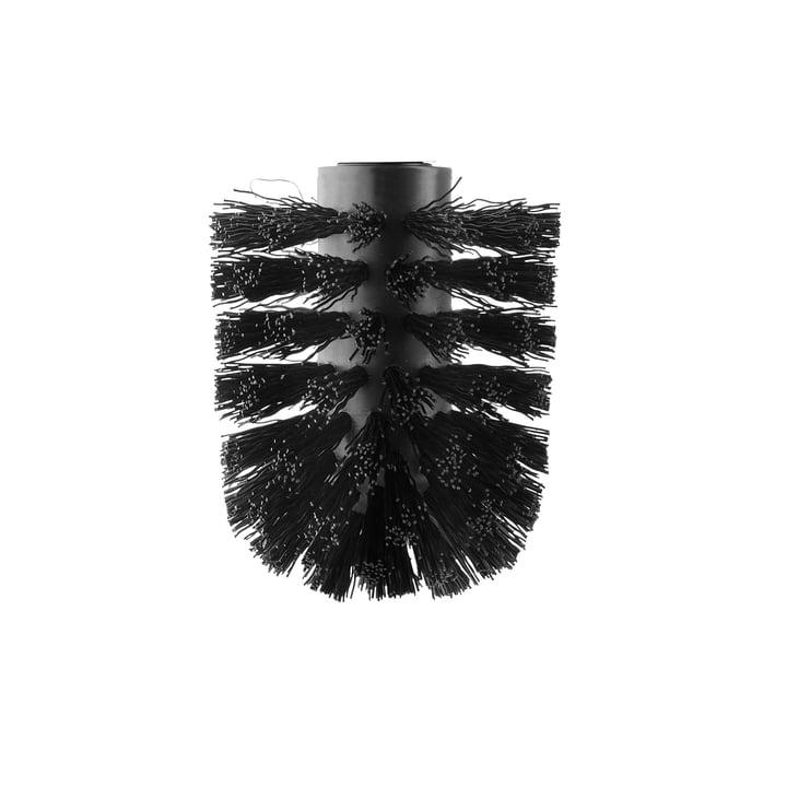 Ersatz-Toilettenbürste von Eva Solo in schwarz matt