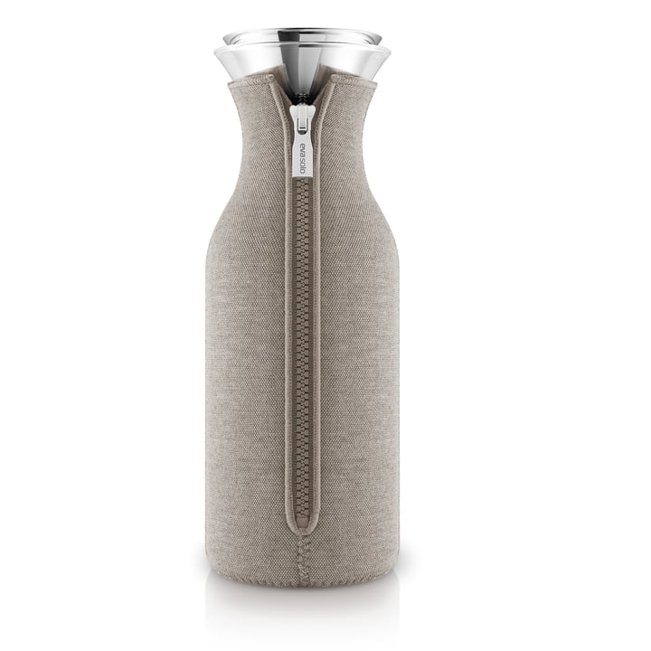 Kühlschrankkaraffe Woven 1.0 l von Eva Solo in warm grey