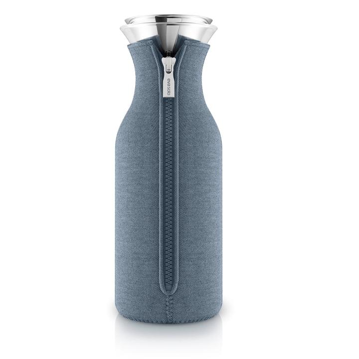 Kühlschrankkaraffe Woven 1,0 l von Eva Solo in steel blue