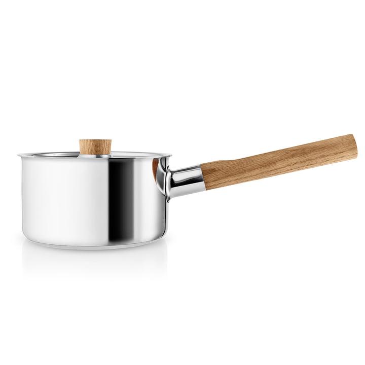 Nordic Kitchen Stielkasserolle 1.5 l von Eva Solo in Edelstahl / Eiche