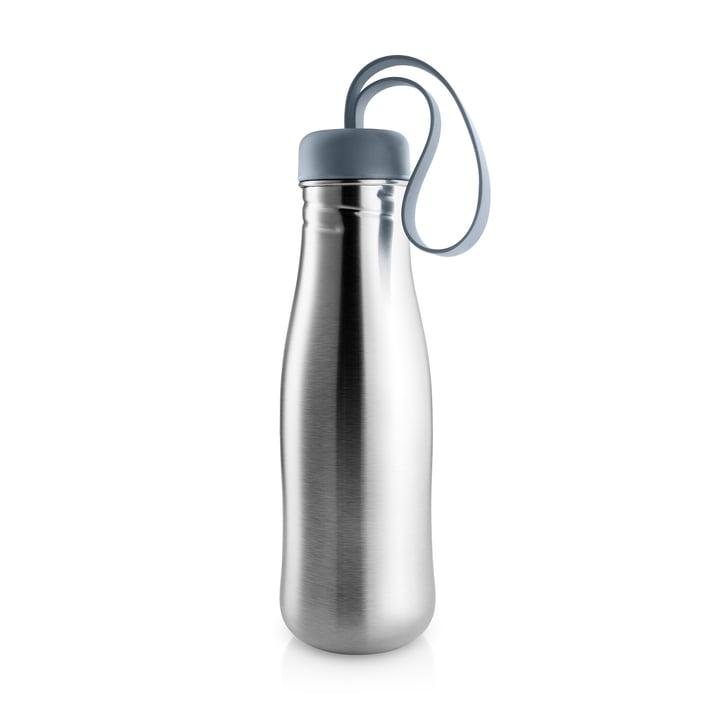 Active Trinkflasche 0,7 l von Eva Solo in Edelstahl / steel blue