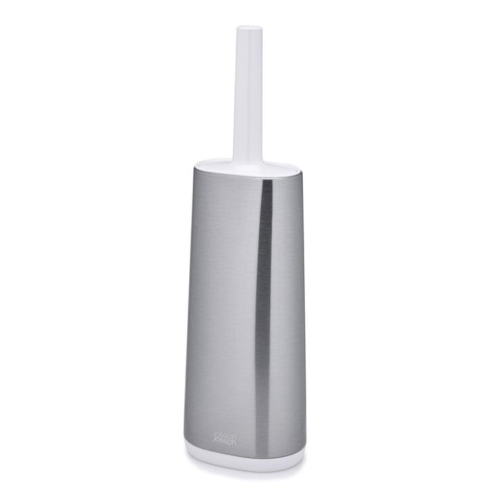 Joseph Joseph - Flex Steel Toilettenbürste, Edelstahl / weiß