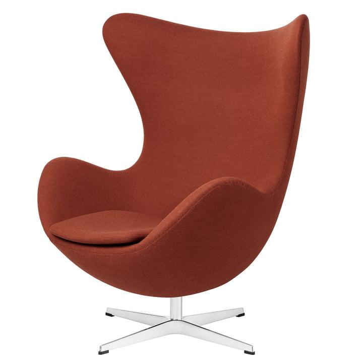 Fritz Hansen - Ei Sessel, Fritz Hansen Colours orange (FH 5901)
