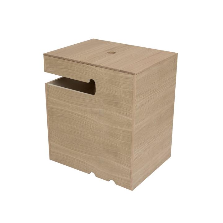 kommod - Bokks Kiste, Eiche