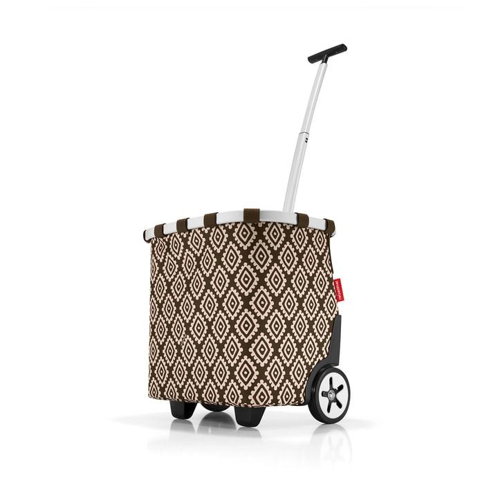 Einkaufstrolley von reisenthel in diamonds mocha (braun)