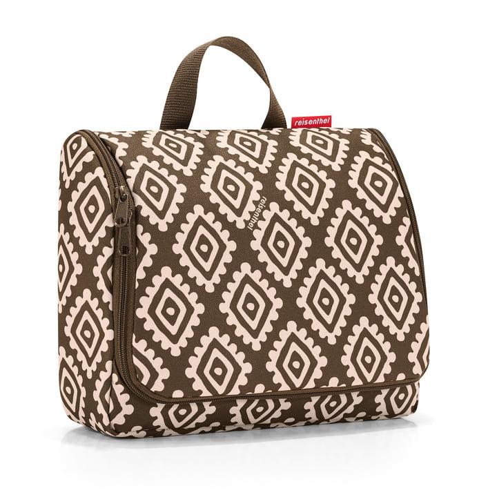 reisenthel - toiletbag XL, diamonds mocha