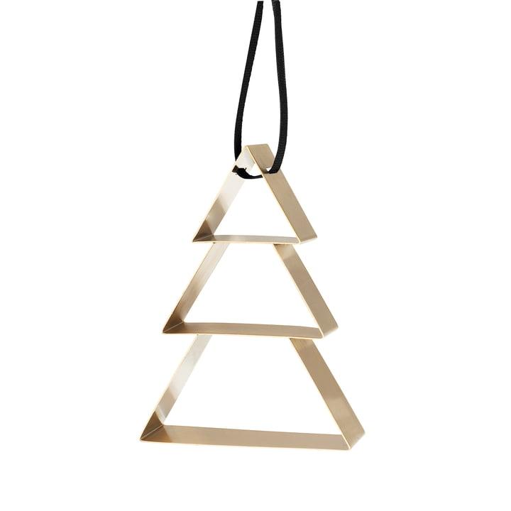 Stelton - Figura Ornament Weihnachtsbaum, Messing / groß