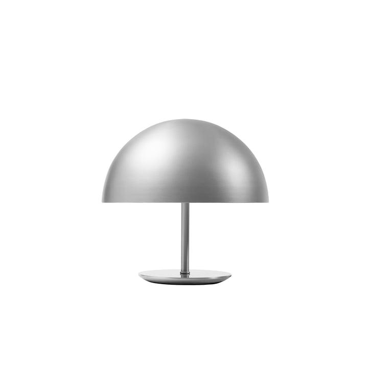 Silberne Dome Tischleuchte von Marter