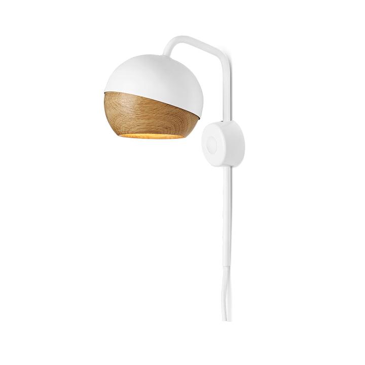 Mater - Ray Wandleuchte, weiß