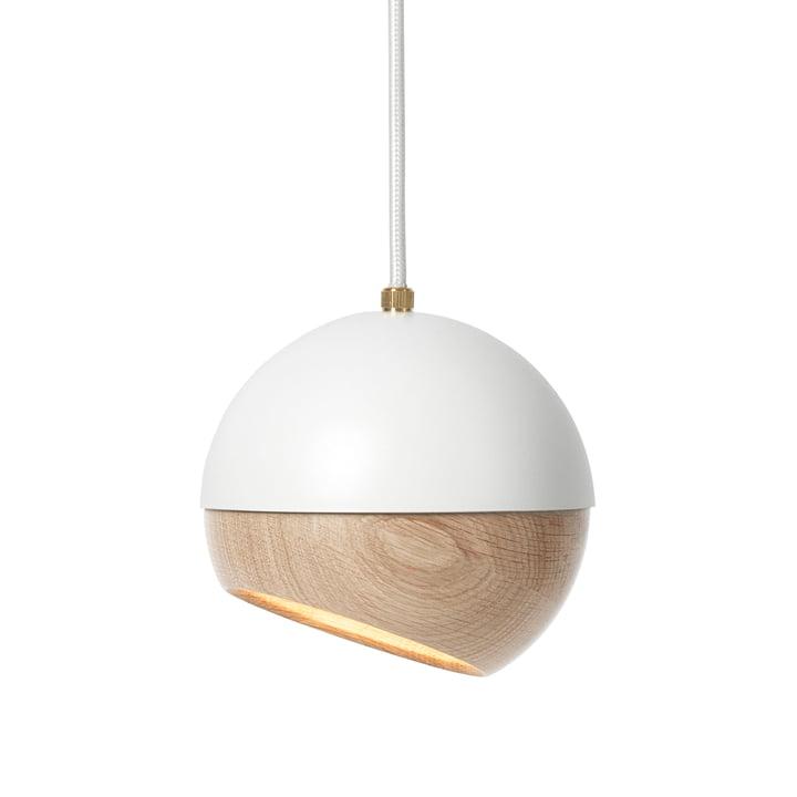 Mater - Ray Pendelleuchte Ø 16 cm, weiß