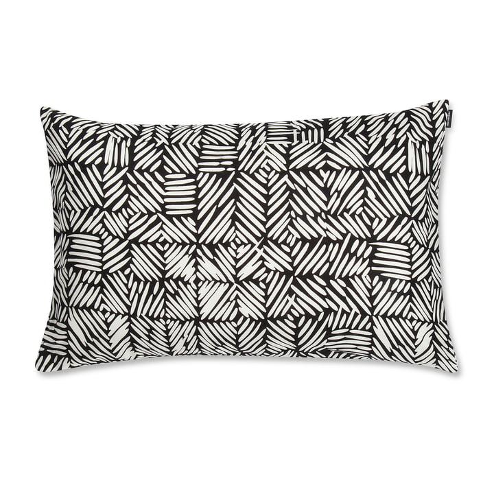 Juustomuotti Kissenbezug 40 x 60 cm, schwarz / weiß von Marimekko