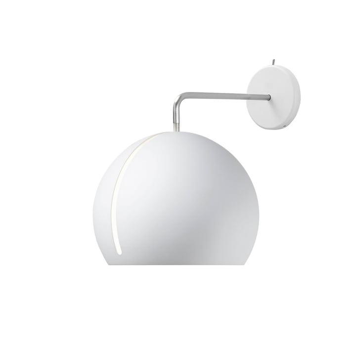 Tilt Globe Wandleuchte Ø 20 cm in weiß von Nyta