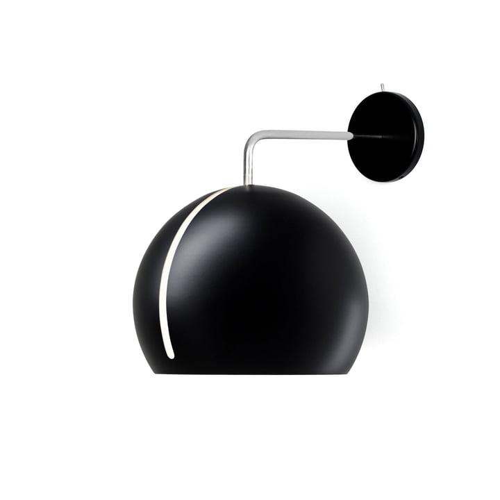 Tilt Globe Wandleuchte Ø 20 cm in schwarz von Nyta