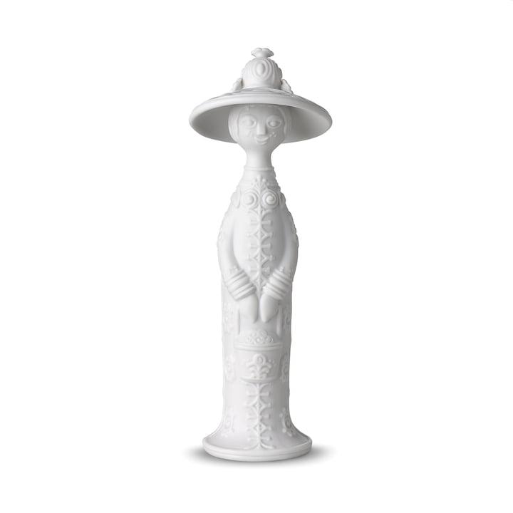 Vier Jahreszeiten Figur, Sommer H 17,5 cm in weiß von Bjørn Wiinblad
