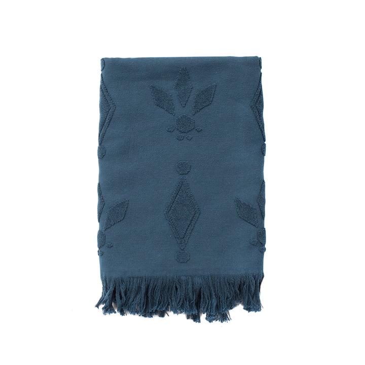 Pearl Badetuch - Handtuch in blau von Juna