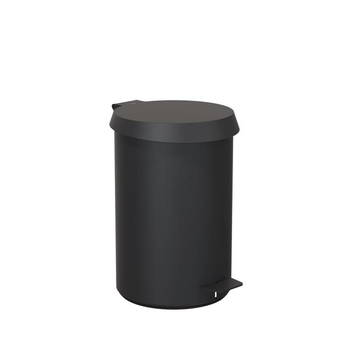Pedaleimer 350 von Frost in schwarz
