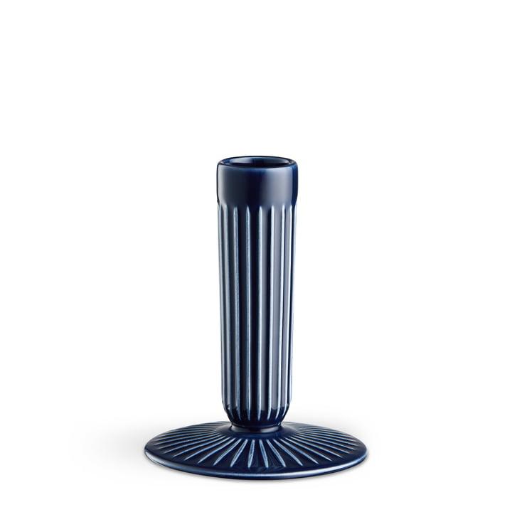 Der Kähler Design - Hammershøi Kerzenhalter H 12 cm in indigo