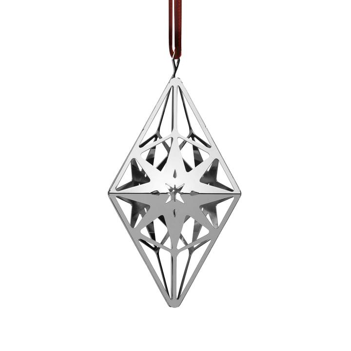 RhombushängerH 11,3 cm, silber von Rosendahl