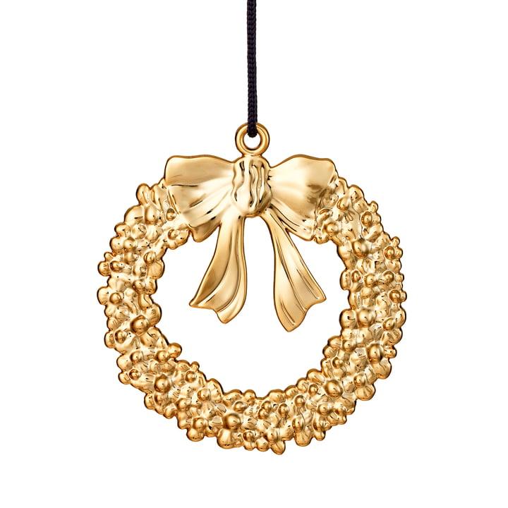 Weihnachtskranz H 7 cm, gold von Rosendahl