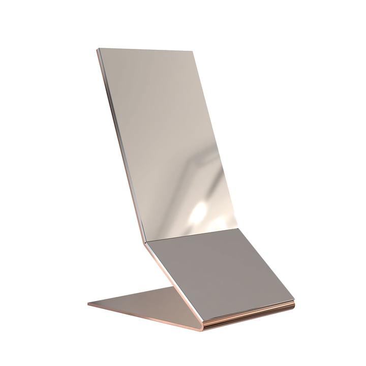 Unu Tischspiegel in Kupfer von Frost