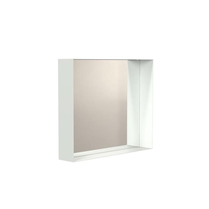 Unu Wandspiegel 4127 mit Rahmen, 50 x 60 cm in weiß von Frost