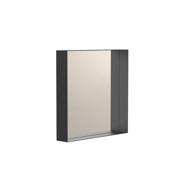 Unu Wandspiegel 4132 mit Rahmen 40 x 40 cm von Frost in schwarz