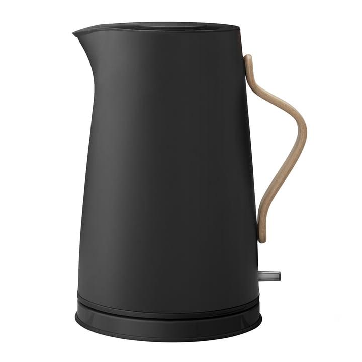 Emma Wasserkocher 1,2 l von Stelton in matt schwarz