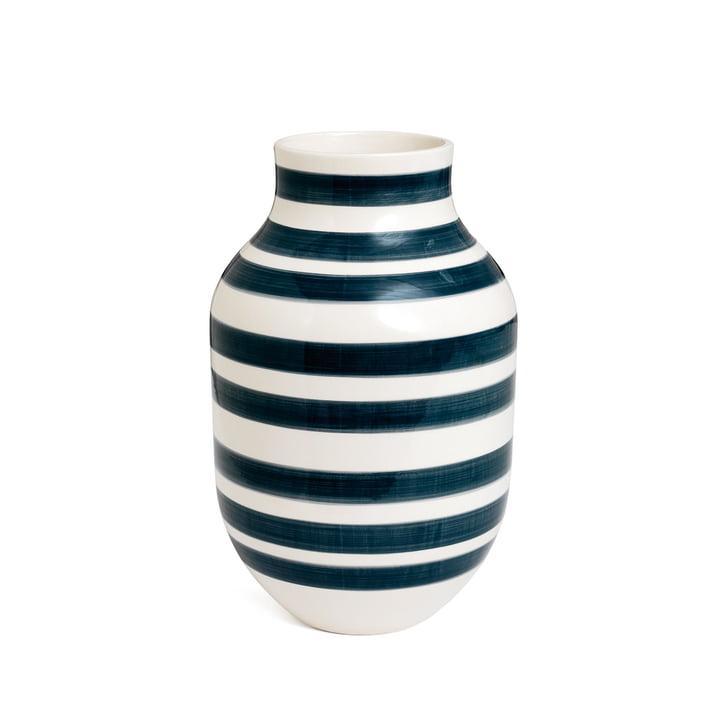 Omaggio Vase H 305, granitgrau von Kähler Design