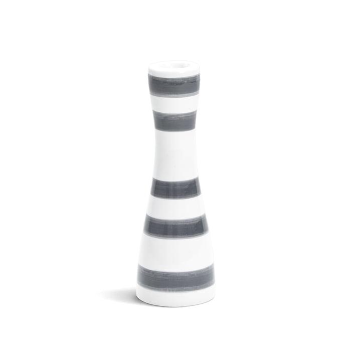 Omaggio Kerzenhalter 16 cm, granitgrau von Kähler Design