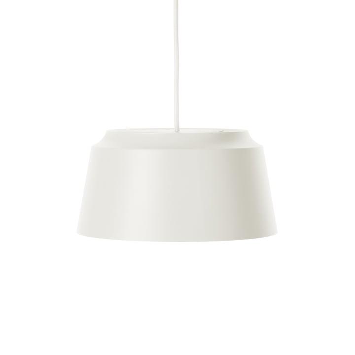 Groove Pendelleuchte von Puik, Ø 26 x H 13 cm in weiß