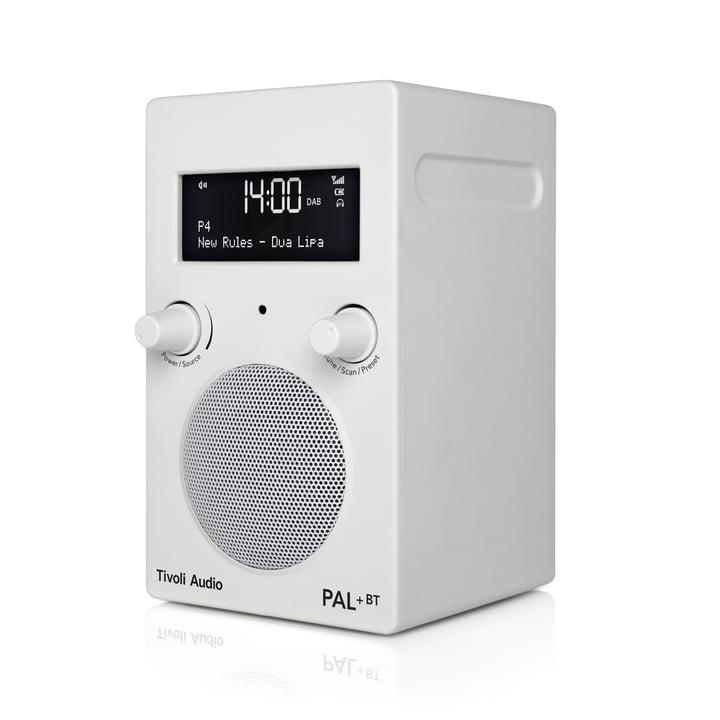 Pal+ BT inkl. Fernbedienung von Tivoli Audio in glänzend weiß / weiß