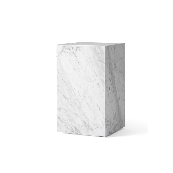Plinth Tall Beistelltisch von Menu in weiß