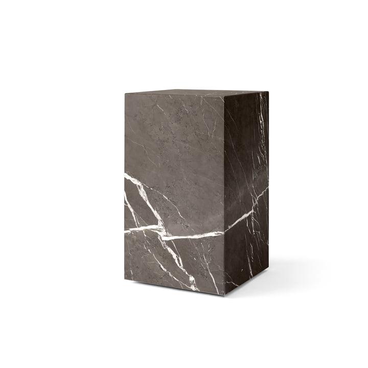 Plinth Tall Beistelltisch von Menu in grau / braun