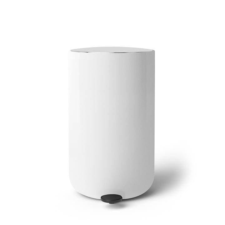 Pedal Abfalleimer 11 l von Menu in weiß